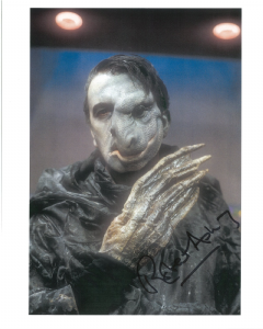 Robert Ashby, Doctor who, Kendron , Genuine Signed Autograph 10766 (1)